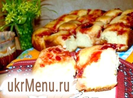 Пиріг з вершково-сирним сиром