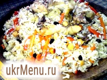 Плов з пасерованого рису (тунтарма палов)