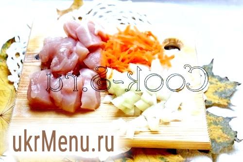 Фото - курка та овочі