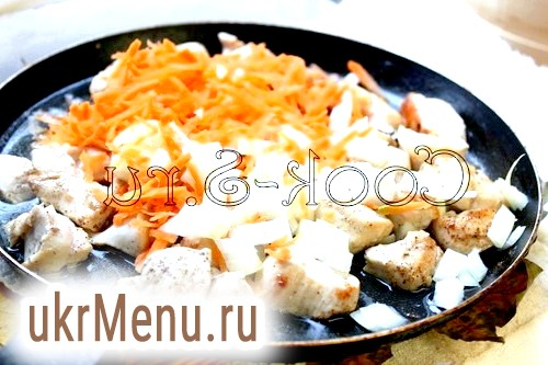Фото - курка з овочами
