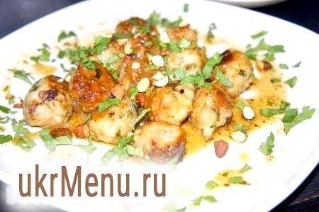 Польпетте (фрикадельки по-сицилийски в гостро-кисло-солодкому соусі)