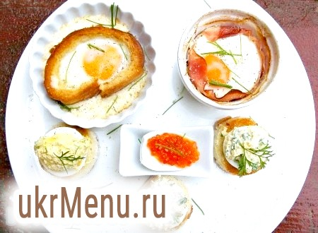 Закуски з яєць