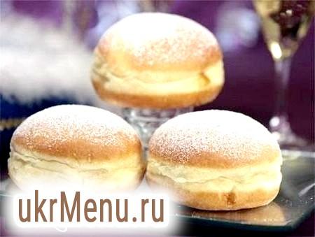 Пончики «Берлінер»: калорійність і смак