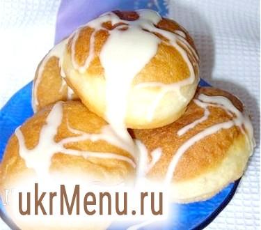 Пончики на кислому молоці