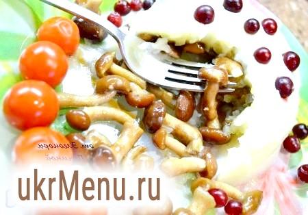 Пісну страву з грибами