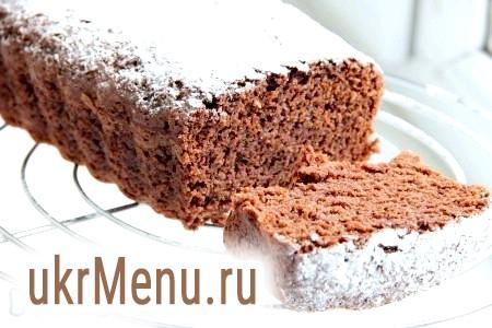 Пісний шоколадний кекс