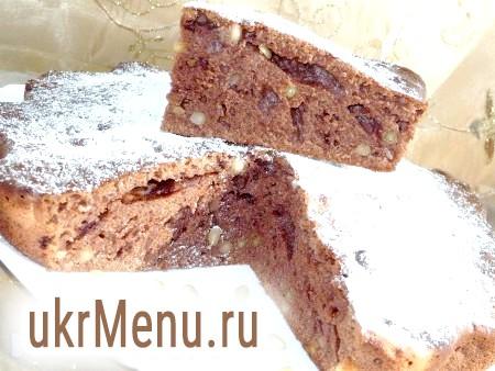 Простий шоколадний кекс