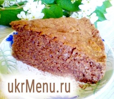 Простий шоколадний пиріг