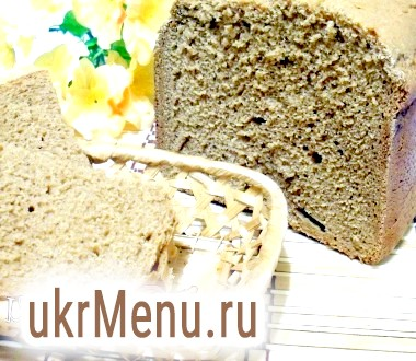 Пшенично-житній хліб на квасі