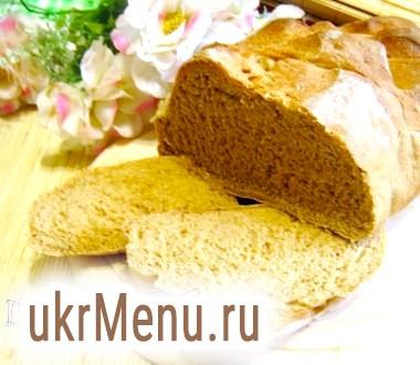 Пшенично-житній хліб з цукром і розмарином