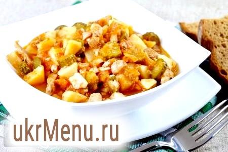 Рецепт азу з яловичини
