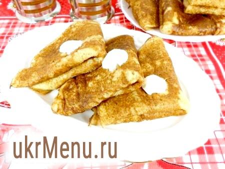 Рецепт млинців з житнього борошна