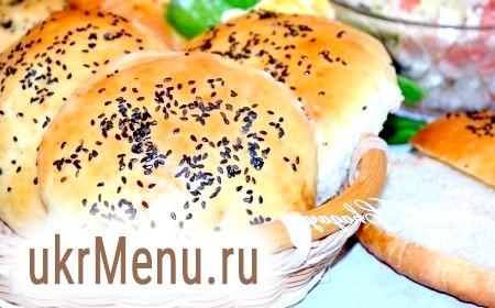 Рецепт булочок для гамбургерів