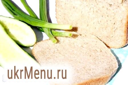 Рецепт Дарницького хліба для хлібопічки