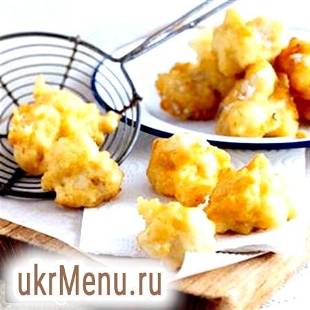 Рецепт для стабілізації (дієта Дюка): гостра яловичина і цвітна капуста в клярі