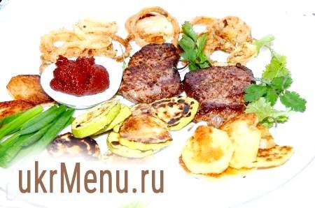 Рецепт яловичини з овочами