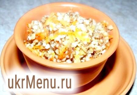 Рецепт гречки з овочами