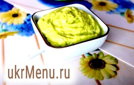 Рецепт гуакамоле з авокадо