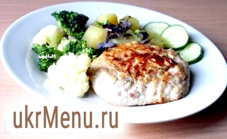 Рецепт ескалопа зі свинини на сковороді