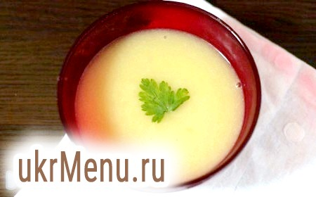 Рецепт картопляного супу-пюре