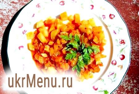 Рецепт картоплі з овочами