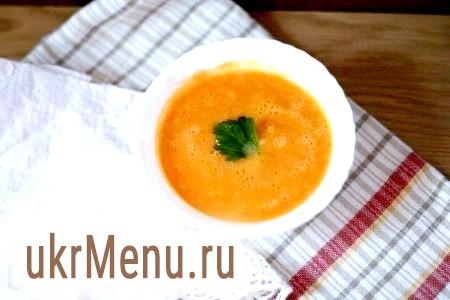 Рецепт крем-супу з гарбуза