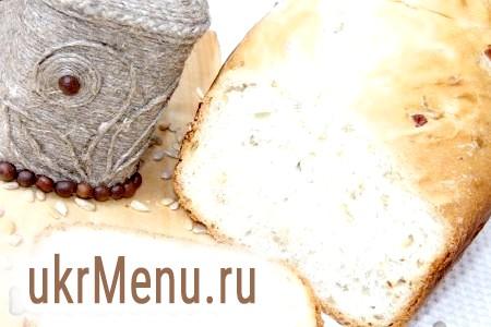 Рецепт цибульного хліба в хлібопічці