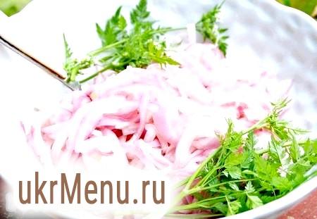 Рецепт маринованої цибулі