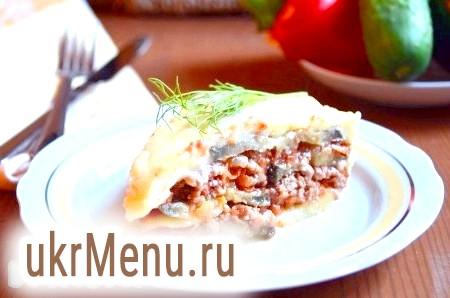 Рецепт мусаки по-грецьки з баклажанами