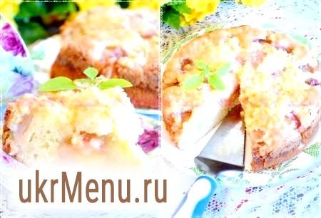 Фото - Тепер можна нарізати на шматочки і пити чай або каву. Персиковий пиріг, приготований за цим рецептом, виходить дуже смачним!