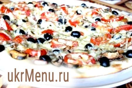 Рецепт піци з морепродуктами
