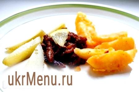 Рецепт піджарки з яловичини