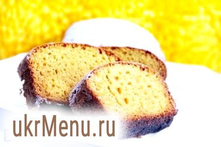 Рецепт приготування кексу з кукурудзяного борошна