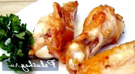 Рецепт приготування курки в медовому соусі, запечена в духовці