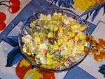 Рецепт салату з крабовими паличками і кукурудзою на Віва вумен