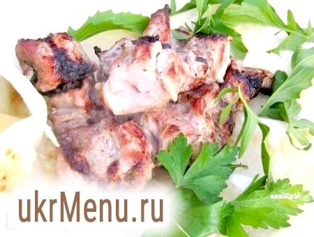 Рецепт шашлику з свинини в кефірі