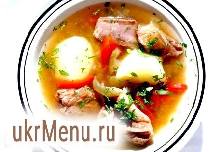 Рецепт шулюм з баранини