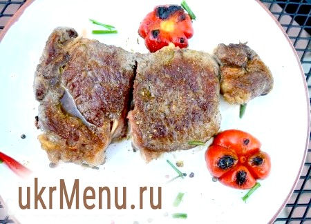 Рецепт стейка з яловичини