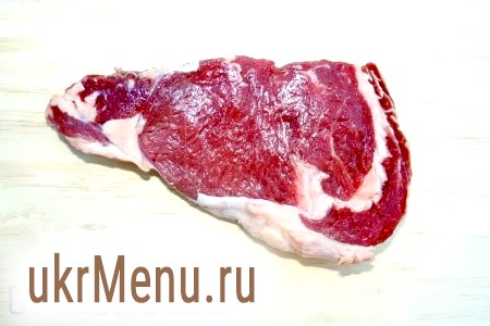Фото - Приготувати шматок м'яса. Поскоблить його або помити, а потім ретельно витерти насухо.