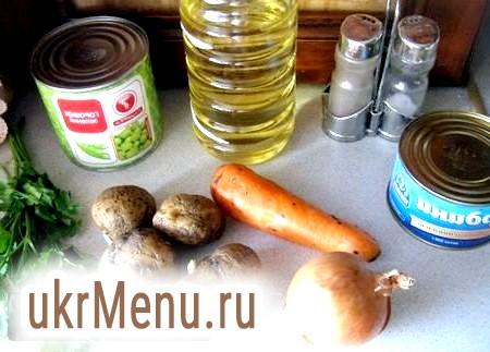 Рецепт супу з рибних консервів