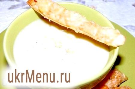 Рецепт супу-пюре з цвітної капусти