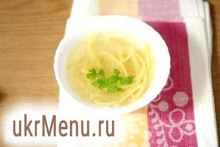 Рецепт тіста для домашньої локшини