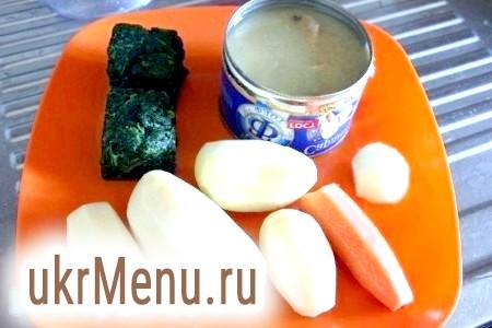 Фото - Інгредієнти для приготування тушкованої курячої печінки