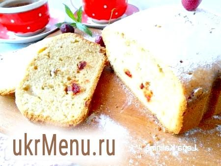 Рецепт сирного кексу в хлібопічці