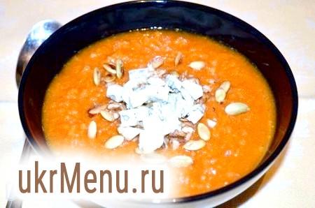 Рецепт гарбузового супу-пюре з сиром