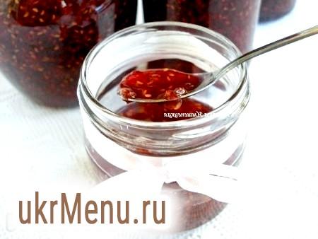 Рецепт варення з малини