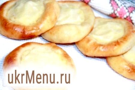 Рецепт ватрушок з картоплею