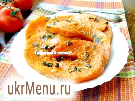 Рецепт запеченої гарбуза (з часником і коріандром)