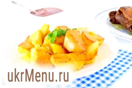 Рецепт запікання картоплі в рукаві
