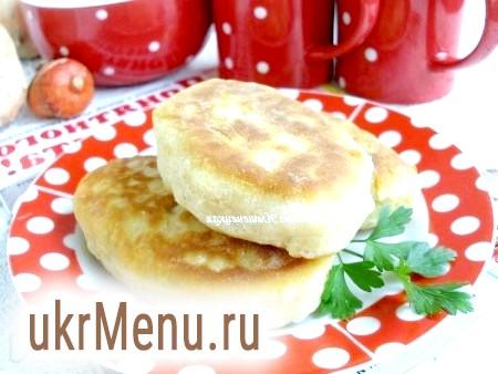 Рецепт смажених пиріжків з картоплею